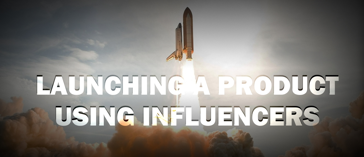 Launching a brand using influencer marketing